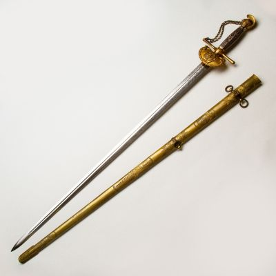 Model 1840 Mass. Militia Staff Officer's Sword by  N.P. Ames