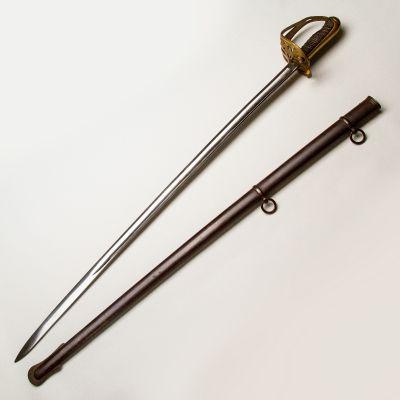 Model 1860 Non-Regulation Civil War Staff and Field Officer's Sword