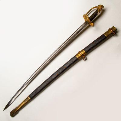 Presentation Grade Staff Officer's Sword