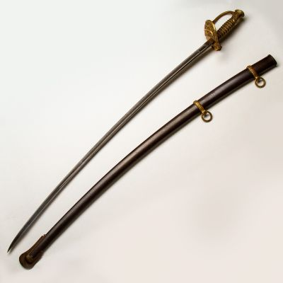 1862 Presentation Grade Collins & Co Cavalry Staff Officer's Sword
