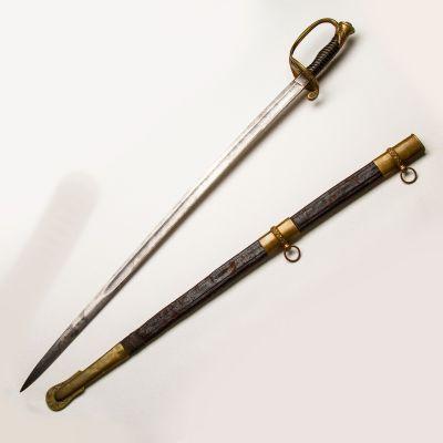Model 1850 Civil War Foot Officer Sword