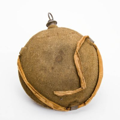 "Civil War Canteen Linen Strap 9"" x 6"""