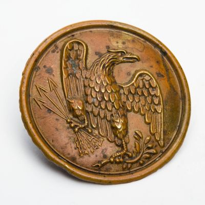 "Civil War Eagle Breast Plate 2.5""x 2.5"""