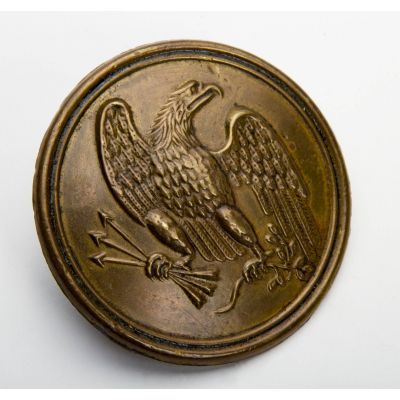 "Civil War Eagle Breast Plate (Maker Marked) 2.5"" x 2.5"""