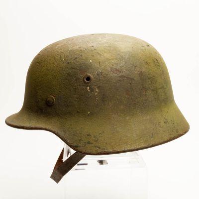"""German WWII M40 Camo Helmet 9"""" x 6"""" x 6"""""""