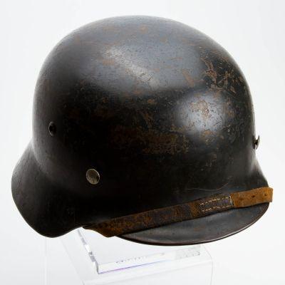 """German WWII M35 Helmet 9.25"""" x 11"""" x 5.5"""""""