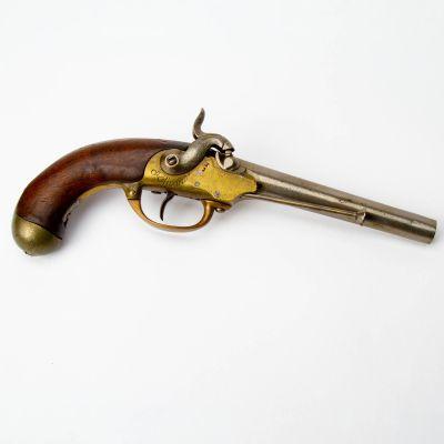 French Model 1777 Percussion Revolver
