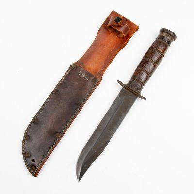 WWII USN MK 2 Ka Bar Knife