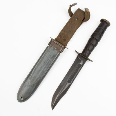 WWII Camillus MK 2 Fighting Knife