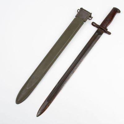 WWII M1905 / M1 Garand Bayonet ( Springfield Arsenal 1921)