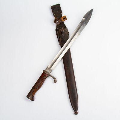 WWI German Butcher Bayonet - 1915