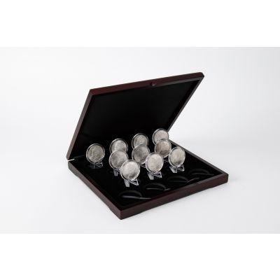 Set of 10: Key Date Morgan Silver Dollar Collection BU