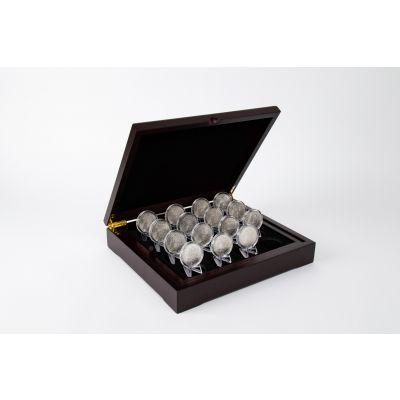 Fabulous 15 Morgan Silver Dollar Collection BU