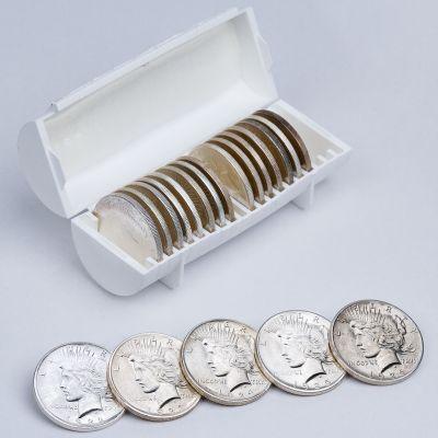 20 Coin Super Silver Peace Dollar Roll