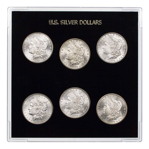 Morgan Dollar 1878 Collector`s Dream Year Set
