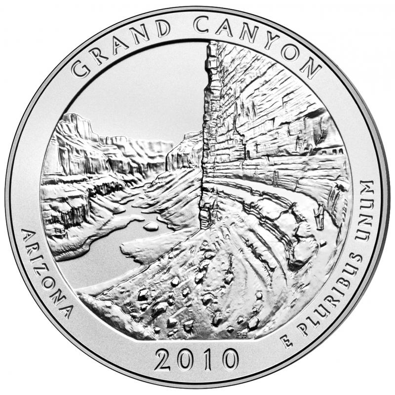 2010 Grand Canyon 5 Oz. Silver ATB