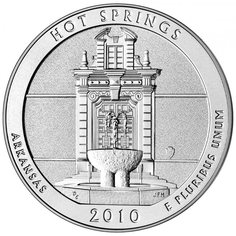 2010 Hot Springs 5 Oz. Silver ATB