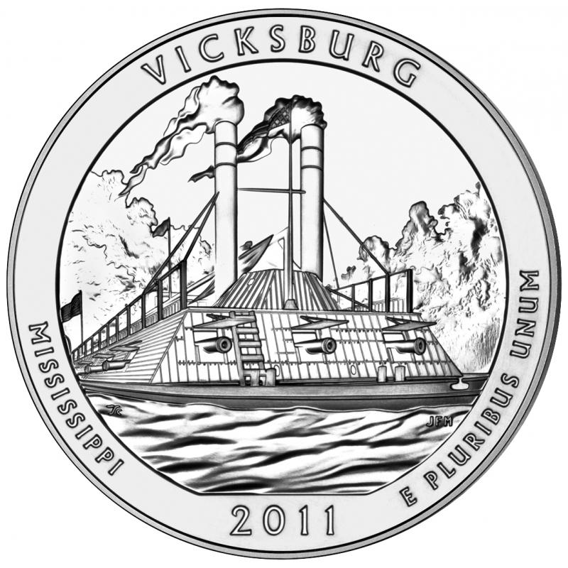 2011 Vicksburg 5 Oz. Silver ATB