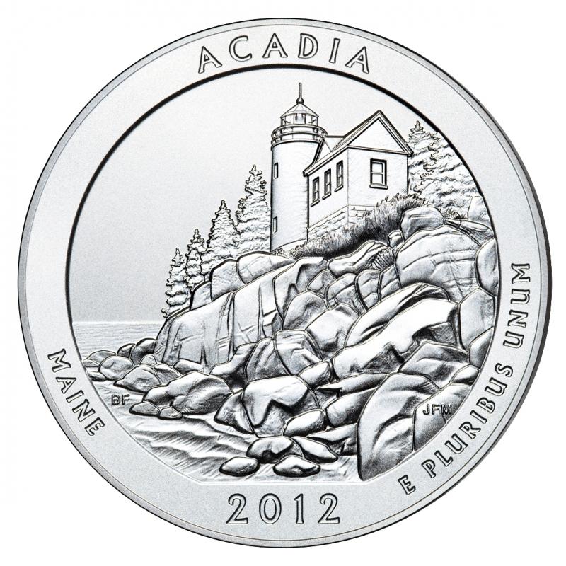 2012 Acadia 5 Oz. Silver ATB