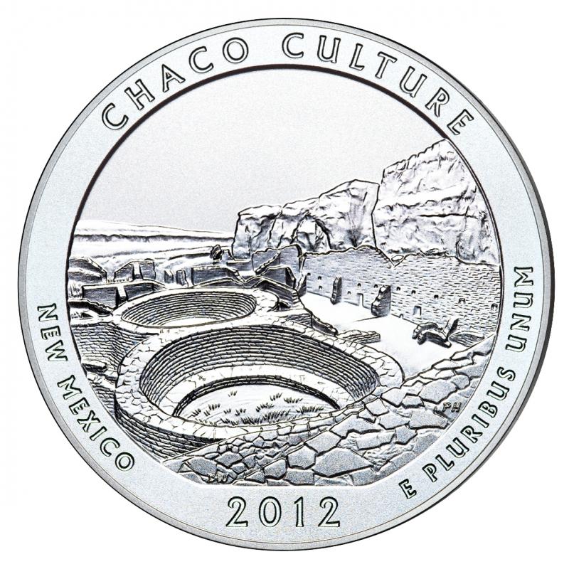 2012 Chaco Culture 5 Oz. Silver ATB