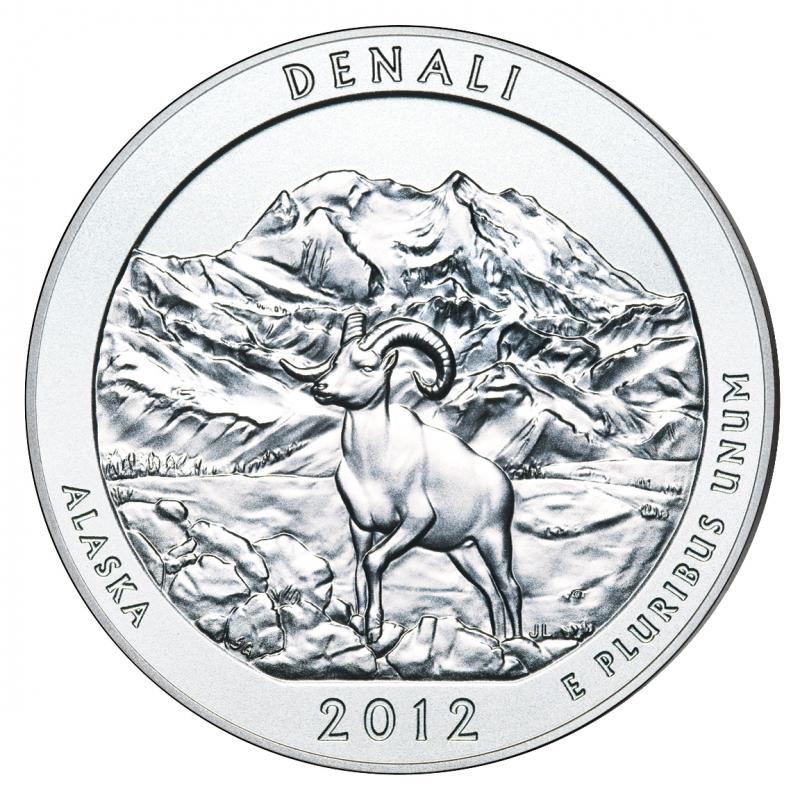 2012 Denali 5 Oz. Silver ATB